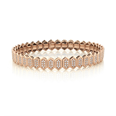 SINGLE SOLITAIRE ILLUSION BRACELET