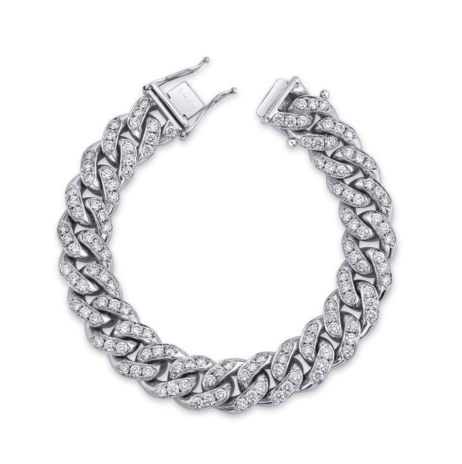 DIAMOND MEGA LINK BRACELET, 18mm