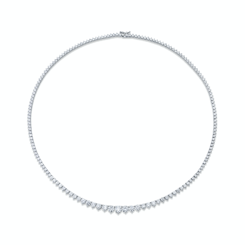 GRADUAL DIAMOND TENNIS NECKLACE
