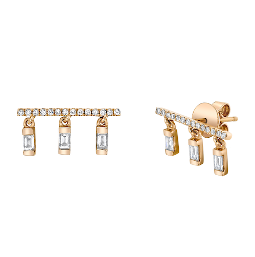 DIAMOND CHIME STUDS