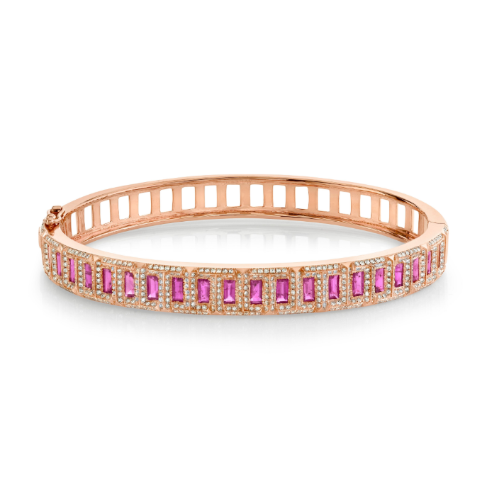 RUBY TREK BANGLE