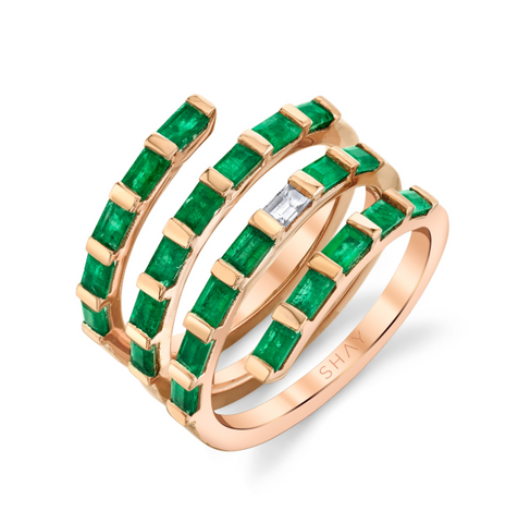 EMERALD OVAL ETERNITY