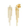 GEMSTONE STICK BONE STUDS