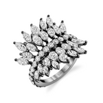 SMALL DIAMOND MARQUISE BUTTERFLY RING