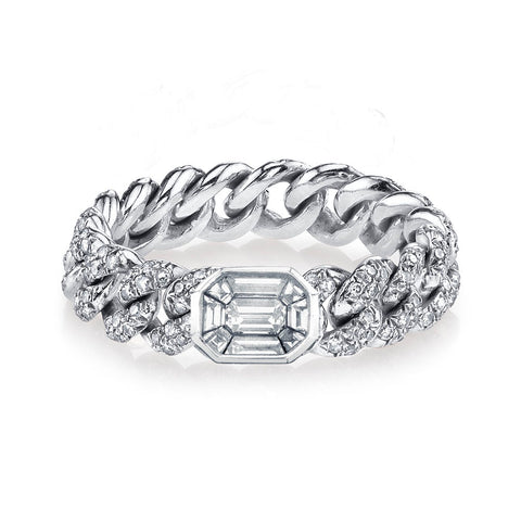MEDIUM FULL PAVE ID RING