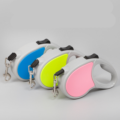 Retractable Two-Tone Dog Leash Image 1 Of 4
