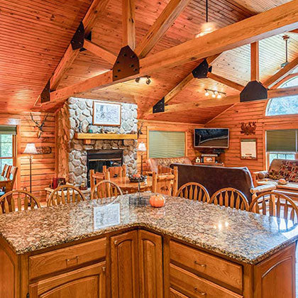 Awesome Wisconsin Properties Log Gables Beutiful Home Inspiration Aditmahrainfo