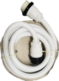 High Tide Marine 50 Amp - 15 ft White Shore Power Extension Cord (8518W)