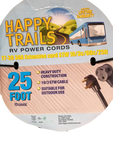 Happy Trails RV 30 Amp - 25 Ft RV Camper Electric Extension Cord (6746)