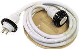 High Tide Marine 30 Amp - 15 ft White Marine Shore Power Extension Cord (8517W)
