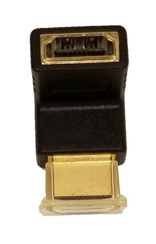 High Tech HDMI Ethernet right-angle, port saver (8806)