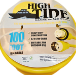 High Tide Marine 50 Amp - 100 ft Shore Power Extension Cord (9508)