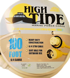 High Tide Marine 50 Amp - 100 ft White Shore Power Extension Cord (9509W)