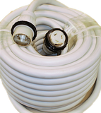50 Amp - 100 ft White Marine Shore Power Extension Cord (9509W)
