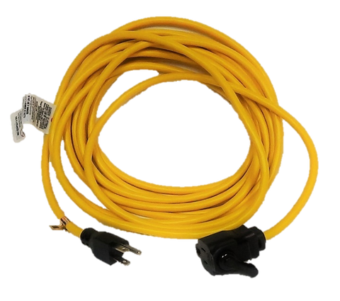 ECS Premier 25 ft Indoor and Outdoor Locking Extension Cord  (E58025LOCK)