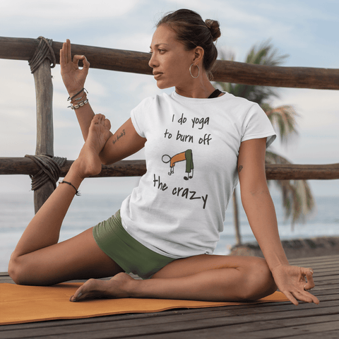 I Do Yoga - Women's T-Shirt #mentalhealth