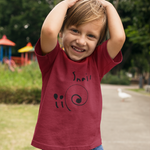 Snail© by Everett (9-yr old artist) T-Shirt #kids