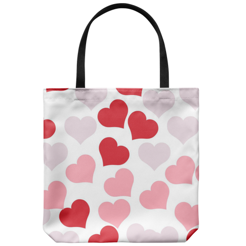 Valentine Hearts - Tote Bag - cormosaic.shop