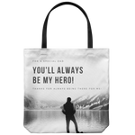 Father's Day Hero - Tote Bag - cormosaic.shop