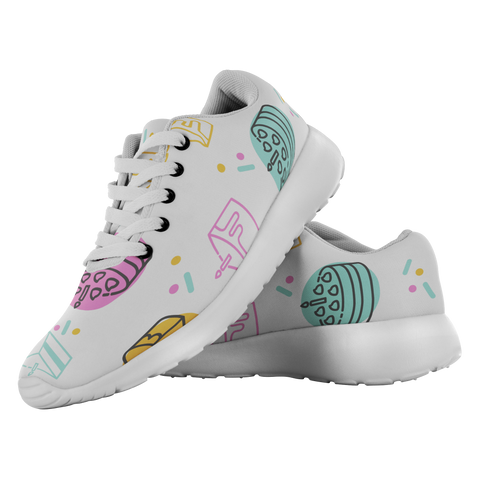 Birthday Cakes - Unisex Running Shoes - cormosaic.shop