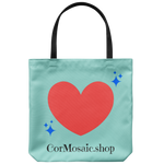 CorMosaic.shop Aqua - Tote Bag - cormosaic.shop
