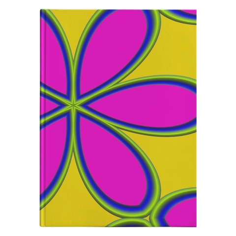 Flower Power - Journal Hardcover - cormosaic.shop