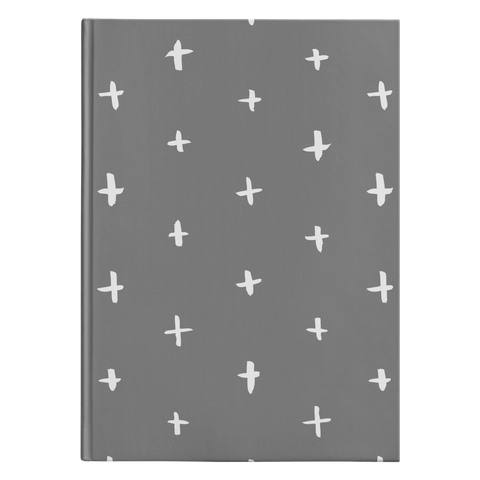 Plus Grey - Journal Hardcover - cormosaic.shop