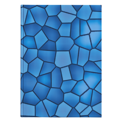 Royal Blue Mosiac - Journal Hardcover - cormosaic.shop
