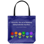 Diversity Thinking - Tote Bag - cormosaic.shop