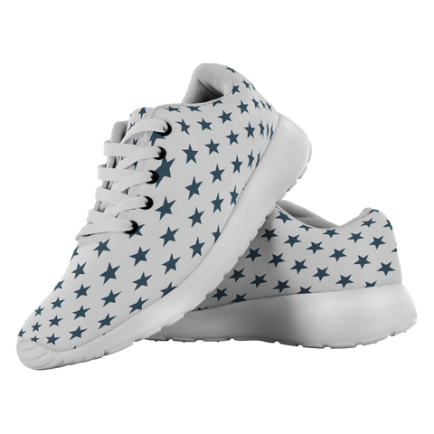 Navy Stars - Unisex Running Shoes - cormosaic.shop
