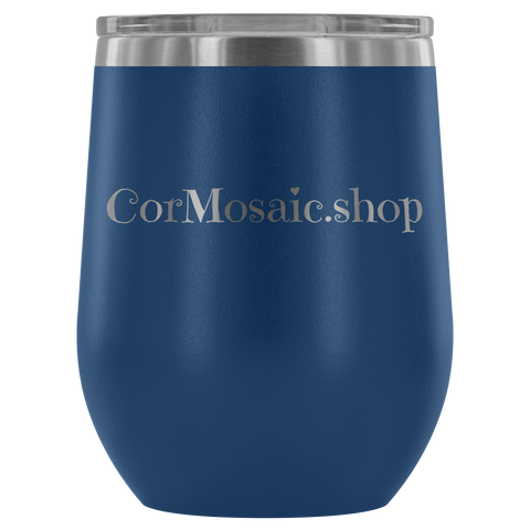 CorMosaic.shop - Wine Tumbler - cormosaic.shop