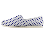 Navy Stars - Women's Casual Shoe - cormosaic.shop