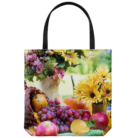 Thanksgiving Horn Of Plenty - Tote Bag - cormosaic.shop