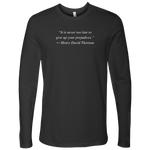 Prejudices - Men's Long Sleeve T-Shirt - cormosaic.shop