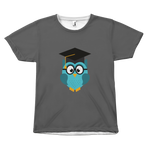 Graduation Owl - Unisex T-Shirt - cormosaic.shop