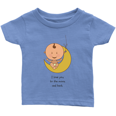 Moon - Infant T-Shirt - cormosaic.shop