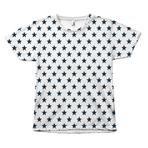 Navy Stars - Unisex T-Shirt - cormosaic.shop