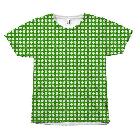 Green Polkadot - Unisex T-Shirt - cormosaic.shop