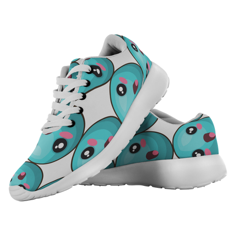 Turquoise - Unisex Running Shoes - cormosaic.shop