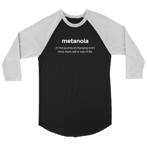 Metanoia - Unisex Raglan T-Shirt - cormosaic.shop