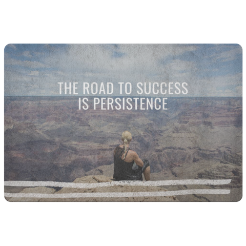 Road to Success - Doormat - cormosaic.shop