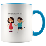 Leadership Skills - Mug - cormosaic.shop