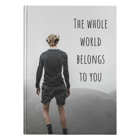Whole World - Journal Hardcover - cormosaic.shop