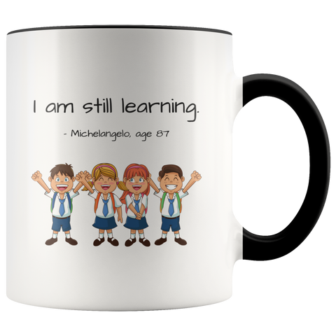 Learning - Mug - cormosaic.shop