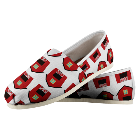 Red Barn - Women's Casual Shoe - cormosaic.shop