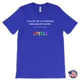 Diversity Thinking - Men's T-Shirt - cormosaic.shop