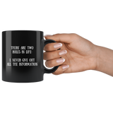 Two Rules - Mug - cormosaic.shop