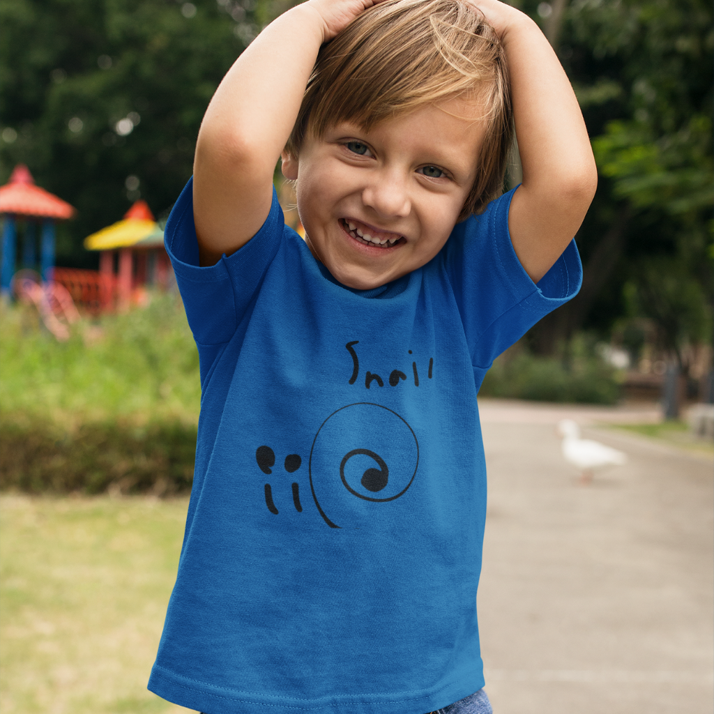 Snail© Designs by Everett (9-year old artist) - Youth T-Shirt
