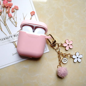 Flower Coloured Simple AirPods Case