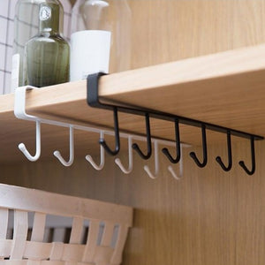 Simple Nail-Free Hanging Rack